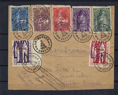 N°266A/266G Op Expressebrief Van Antwerpen 05/11/1928 Naar Jette - Brieven En Documenten