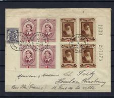 N°496/497 Op Omslag Uit Bruxelles 18/05/1939 Naar Strasbourg Frankrijk - Lettres & Documents