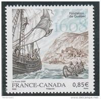 FRANCE 2008 FONDATION DE QUEBEC NEUF** YT 4182                       - - Nuovi