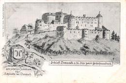 Schloss Dorneck Jubiläum 400 Jahre - Litho - Dornach - SO Solothurn