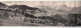 Panorama De Chesières Et De Villars Sur Ollon - 4 Cartes Postales - P. Thomas Bazar Des Alpes Chesières - VD Vaud