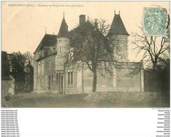 18 SAINT-LOUP DES CHAUMES. Château De Prégirault Vers 1907 - Other Municipalities