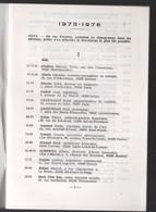 (Franc-maçonnerie) Liste Des Membres Du G:.O:. De France  1975-76 (M1413) - Unclassified