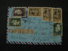 Flam. 66. Flamme. Cover. Visit Greece  To Sea The Truth 1968. 1 X N°818; 2 X N° 815; 3 X N° 905 - Briefe U. Dokumente