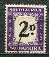 Union Of South Africa Postage Due, Südafrika Portomarken Mi# 36 Gestempelt/used - Segnatasse