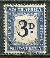 Union Of South Africa Postage Due, Südafrika Portomarken Mi# 37 Gestempelt/used - Segnatasse