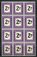 "Union Of South Africa Postage Due, Südafrika Portomarken Mi# 36 Postfrisch/MNH - Mayor Variety ""thick 2 D"" !!!!!!rare!!! - Segnatasse"