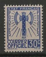 France YT Service 2 Neuf Sans Gomme - (X) - MNG - Neufs