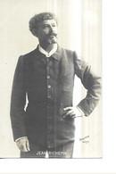PERSONNAGES  PORTRAIT GROS PLAN   M .  JEAN RICHEPIN      REUTLINGER    FACON PHOTO TIRAGE 1900 - Personajes