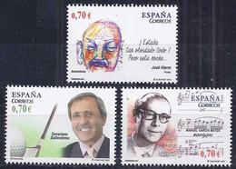 Spain 2012. Personajes Ed 4716-18 (**) - 2011-... Nuovi & Linguelle