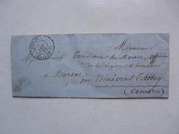 VIEUX PAPIERS - ABONNEMENT : Le Constitutionnel - Rue De Valois (Palais Royal) - Monsieur Tandeau De Marsac - Historische Documenten