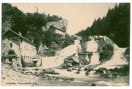 EL 2 - 8416 VALLORBE, Cascade Du Day, Switzerland - Old Postcard - Unused - Zonder Classificatie