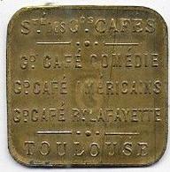 TOULOUSE  - Sté Des Gds Cafés - 5 C - Monetari / Di Necessità