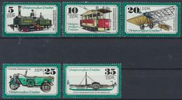 DDR 1977 / MiNr.    2254 - 2258   ** / MNH  (s483) - Nuevos