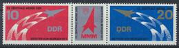 DDR 1977 / MiNr.    2268 - 2269  Dreierstreifen    ** / MNH  (s485) - Ungebraucht