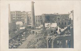 59) LILLE - Carte-Photo : Après L'explosion De Janvier 1916 - Guerre De 1914/18  1.WK - WW1 - Lille