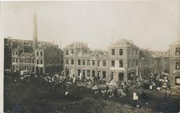 59) LILLE - Carte-Photo : Après L'explosion De Janvier 1916 - Guerre De 1914/18  1.WK - WW1 (2) - Lille