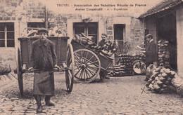 "TROYES   "" TOP CARTE ;sabotiers Reunis Expedition , Tres Beau Plan ""     N°7364 - Troyes"