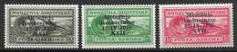 Complete Albania Airmail Set Mnh ** 33 Euros 1939 - Sin Clasificación