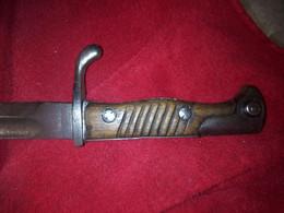 Baïonnette Allemande Mauser 98G - Knives/Swords