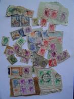 LOT De 75 X TIMBRE POSTE Ancien : HONG KONG / Cachet Paquebot Vers 1950 - Used Stamps