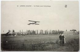 VOL PLANÉ AVANT L'ATTERRISSAGE - LONGVIC-AVIATION - Aeródromos