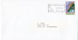Nederland - Vlagstempel - Wandelsportorganisatie KNBLO - Nijmegen 73e Vierdaagse - Poststempel