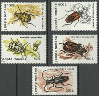 1996Romania5165-5169Insects - Autres