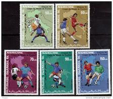 MAURITANIE   PA 263/67   * *    ( Cote 21e )  Cup 1990    Football  Soccer Fussball - 1990 – Italia