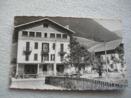 Cpsm 1962, Entremont, Hôtel De France, Pension D'enfants, Haute Savoie - Autres Communes