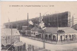 44 SAINT NAZAIRE Le Paquebot   France Sur Cale ,échaffaudage Autour Circulée En 1911 - Saint Nazaire