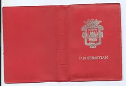 LIBRITO FLEXO DE POSTALES CON 20 VISTAS DE SAN SEBASTIAN / GUIPUZCOA.- ( PAIS VASCO ) - Guipúzcoa (San Sebastián)