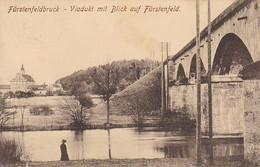 AK Fürstenfeldbruck - Viadukt Mit Blick Auf Fürstenfeld - 1914 (53614) - Fuerstenfeldbruck