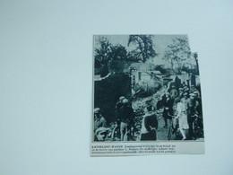 """Origineel Knipsel ( A 122 ) Uit Tijdschrift """" De Stad """"  1933 :  Brand   Katelijne - Waver - Zonder Classificatie"""
