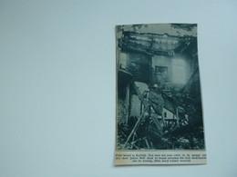 """Origineel Knipsel ( A 124 ) Uit Tijdschrift """" De Stad """"  1933 :  Brand   Kortrijk - Zonder Classificatie"""