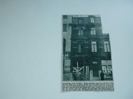 """Origineel Knipsel ( A 125 ) Uit Tijdschrift """" De Stad """"  1933 :  Brand   Gent - Zonder Classificatie"""