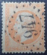 R1286/487 - NAPOLEON III N°23 - GC 947 : CHATEAUROUX (Indre) - 1862 Napoleon III