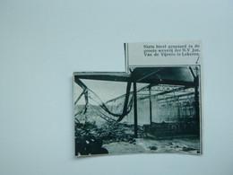 """Origineel Knipsel ( A 131 ) Uit Tijdschrift """" De Stad """"  1933 :  Brand   Lokeren - Zonder Classificatie"""