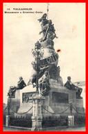 TARJETA POSTAL VISTA PARCIAL MONUMENTO A CRISTOBAL COLÓN ( VALLADOLID ) - Valladolid