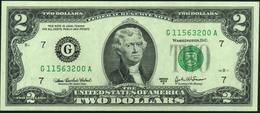 ♛ U.S.A. UNITED STATES Of AMERICA - 2 Dollars 2003 UNC P.516 B - Billets De La Federal Reserve (1928-...)