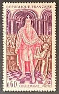 FRA1497U - Grands Noms De L'Histoire - Charlemagne - 60 C Used Stamp 1966 - France YT 1497 - Oblitérés