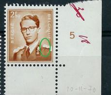 N° 1028-V3 Mouche Sur L'épaule  BDF (**) - 1953-1972 Anteojos