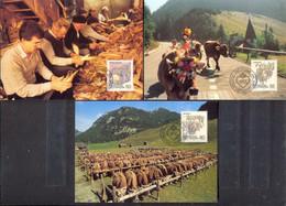 LIECHTENSTEIN - MAXIMUM CARDS - AUTUMN NEEDS - MK.90 - Non Classificati