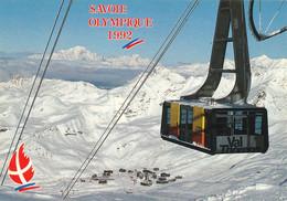 Savoie Mont Blanc - Albertville  Olympique 1992 -  Enjeu Olympique - Val Thorens à Proximité Des Menuires - Juegos Olímpicos