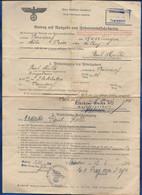 Laissez  Passé Allemand  8 Mai 1944 - Documenti