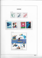 2003 MNH Sweden, Year Collection According To DAVO Album - Años Completos