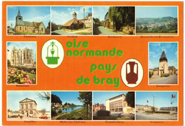 MULTIVUES L'OISE TOURISTIQUE OISE NORMANDE ET PAYS DE BRAY FORMERIE SONGEONS GERBEROY CRILLON THERINES MILLY NOAILLES - Unclassified