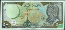 ♛ SYRIA - 500 Pounds 1998 UNC P.110 C - Siria