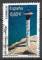 Spain 2008. Scott #3595e (U) Torredembarra Lighthouse, Tarragona - 2001-10 Afgestempeld