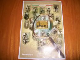 2020 REPUBBLICA - FOGLIETTO GIORNATA DELLA FILATELIA - 2011-...: Usados